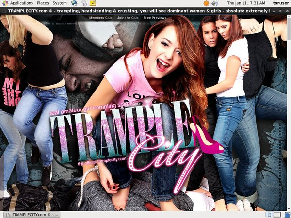Trample City Men
