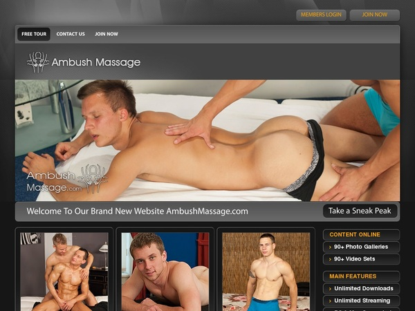 Discount Ambushmassage Offer