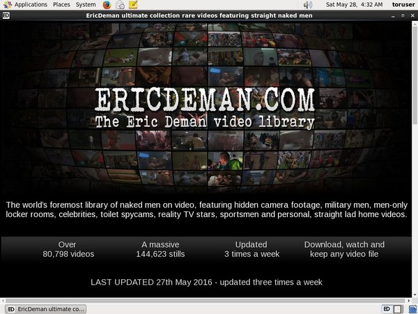 Eric Deman Limited Rate